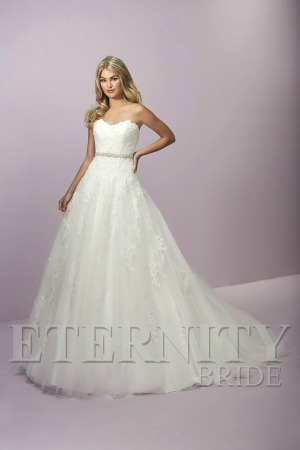 ff3d3cdc9a A romantic lace over tulle princess style wedding dress featuring a sweetheart  neckline