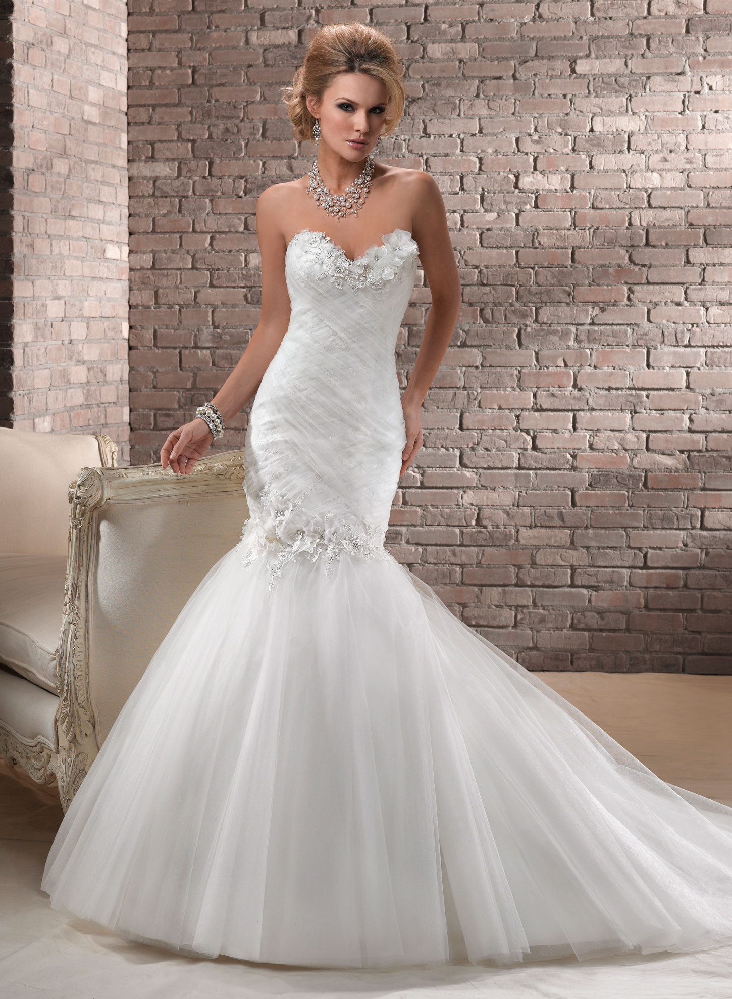 Fishtail Wedding Dress Derby : Lou bridal margot lb gown