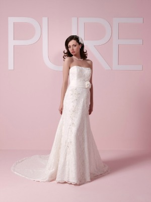Pure Bridal 'PB1047' Bridal Gown.  Size 12.  £600.  Unworn Sample